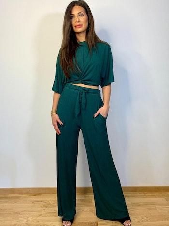 Irina Two Set Tracksuit Green