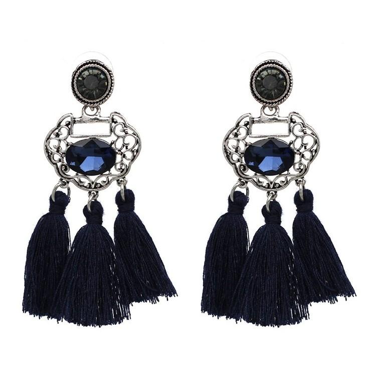 Amal Blue Örhängen