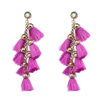 Riri Purple Örhängen