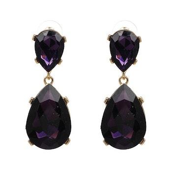 Lilo (big) Purple Drop Örhängen