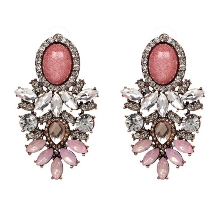 Nala Marble Pink Örhängen