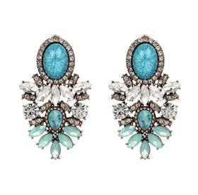 Nala Marble Turquoise Örhängen