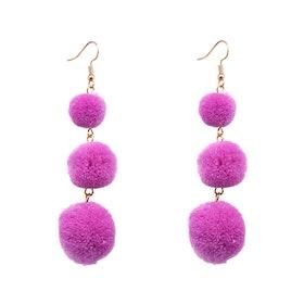 Lolo Purple Örhängen