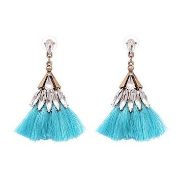 Fanny Light Blue Örhängen