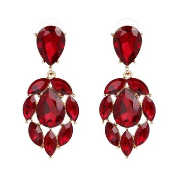 Salome Red Örhängen
