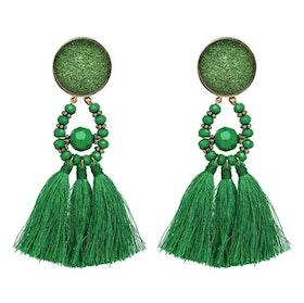 Amina Glam Green Örhängen