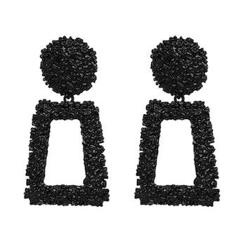 Hanady Black Earrings