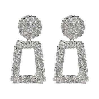 Hanady Silver Örhängen