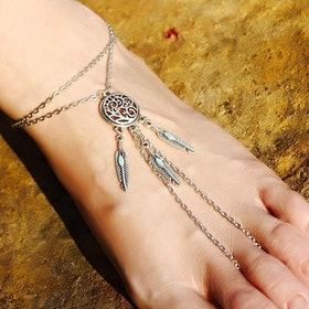 Dreamcatcher Foot Chain