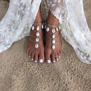 Seashell Foot Chain