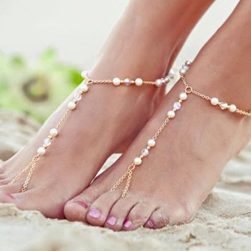 Zoe Foot Chain Gold