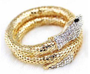 Python Bracelet Gold
