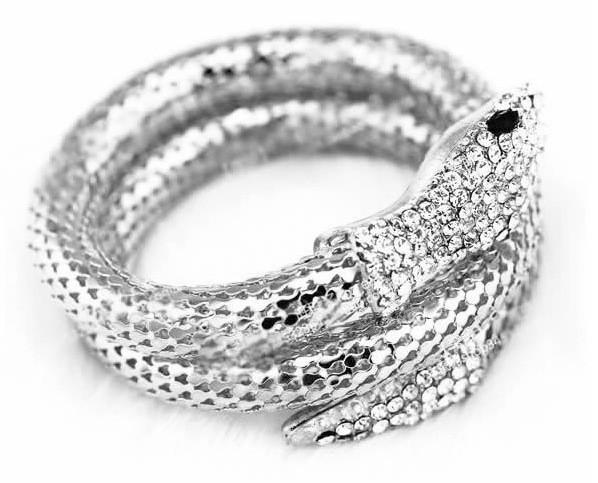Python bracelet Whitegold