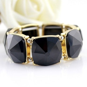 Beatrice Black Armband