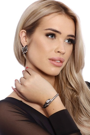 Snake Bracelet Gray