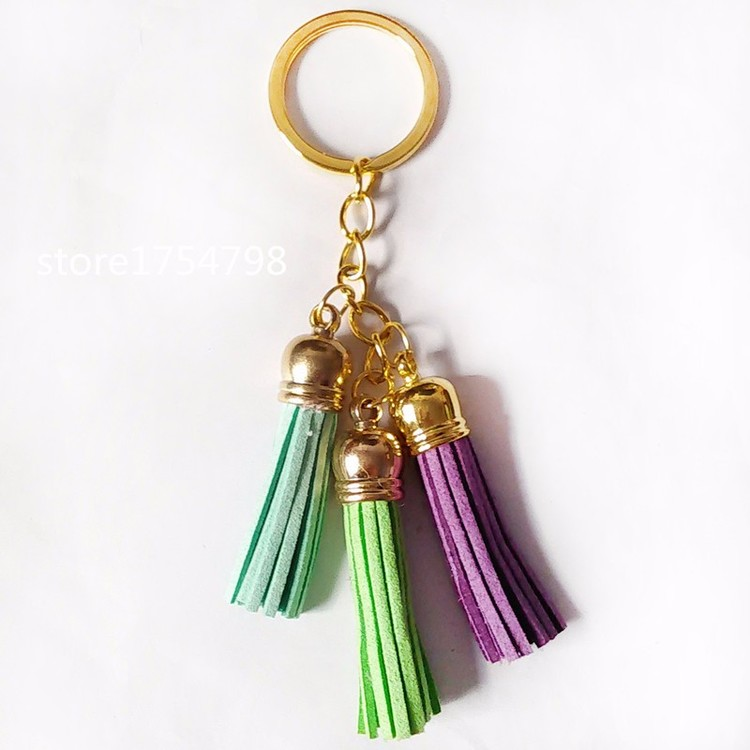 Little Tassels Green
