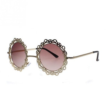 Lucy Gold Sunglasses