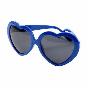 Heart Sunglasses Blue