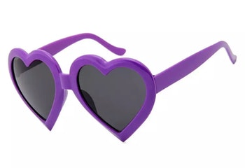 Lovely Sunglasses Purple