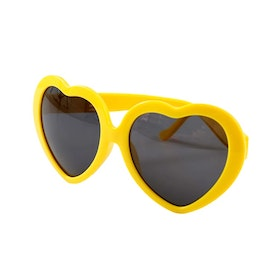 Heart Sunglasses Yellow