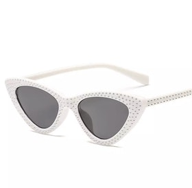 Cindy White Sunglasses