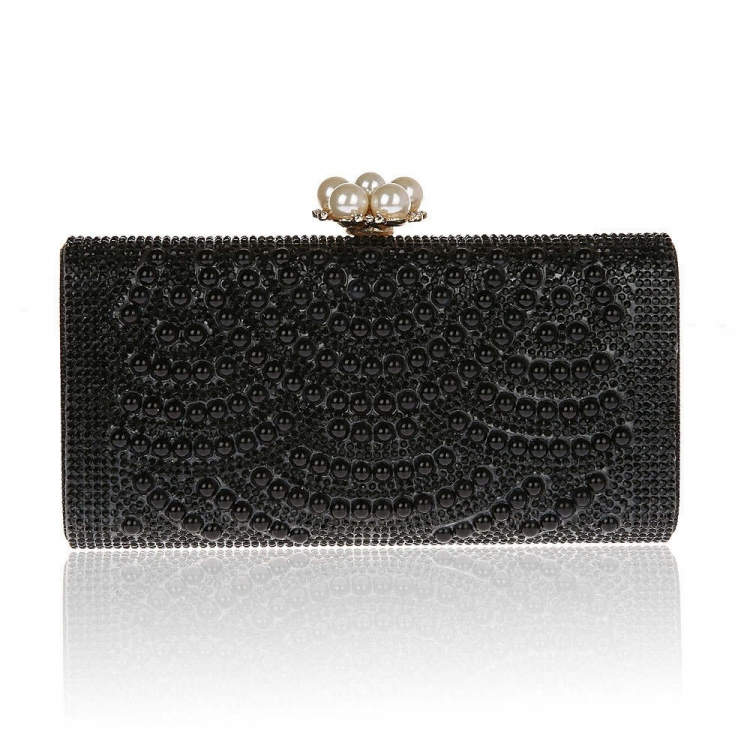 Black Pearls Clutch