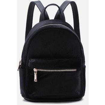 Velvet Backpack Black