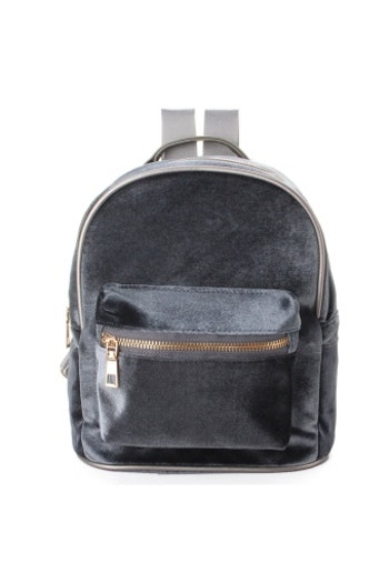 Velvet Backpack Silver