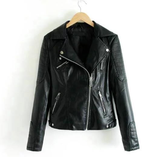 Biker Jacket Pam Black
