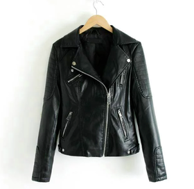 Biker Jacket Pam Black
