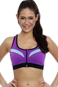 Sturdy Sportbra Purple