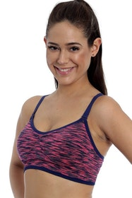Running Sports Bra Pink
