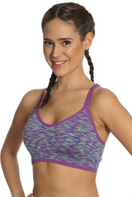 Running Sports Bra Purple