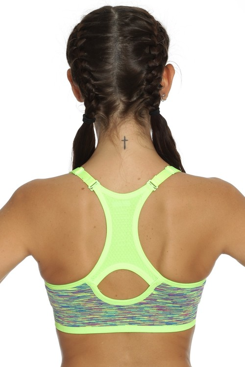 Running Sports Bra Green