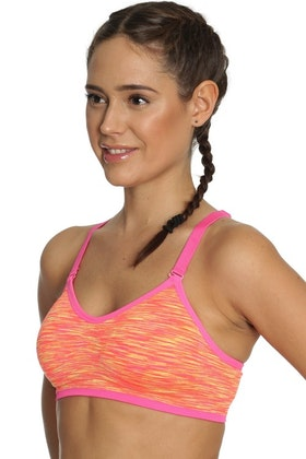 Running Sports Bra Orange