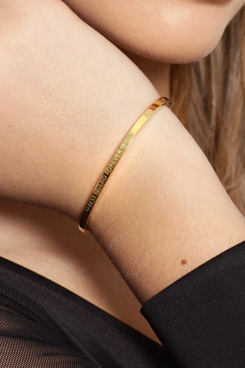 Best Friend Forever Bracelet Gold