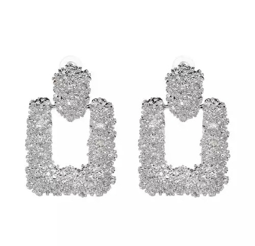 Ranya Silver Earrings