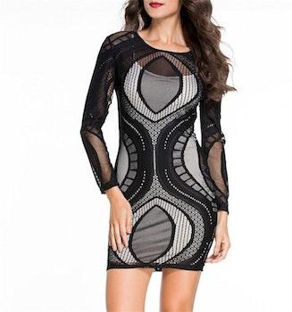 Linda Mesh Dress