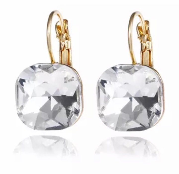 Valerie Clear Earrings