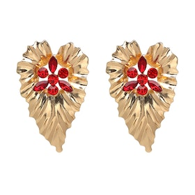 Wilma Red Earrings