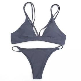 Fanny Bikini Grey