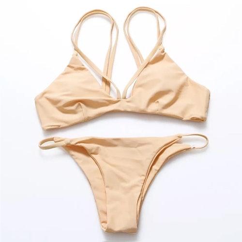 Fanny Bikini Beige