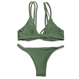 Fanny Bikini Green