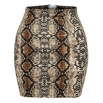 Leoprint Skirt