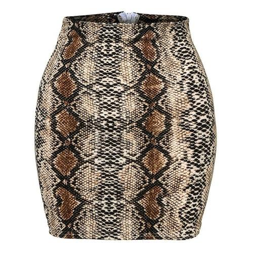 Leoprint Skirt