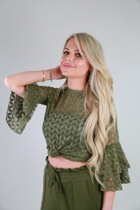 Esmeralda Top Green