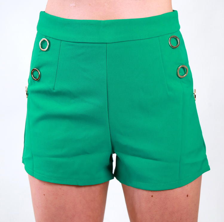 Jackie Shorts Green