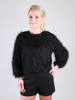 Cozy Chrissie Sweater Black