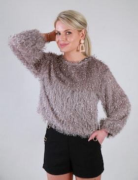 Cozy Chrissie Sweater Grey