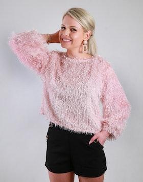 Cozy Chrissie Sweater Pink